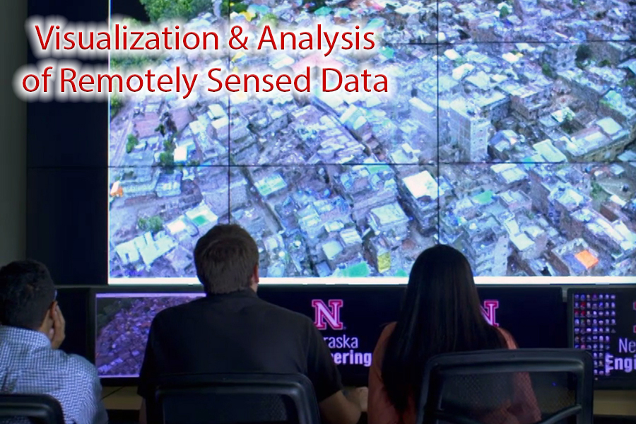 Visualization and Analysis of Remotely Sensed Data.
