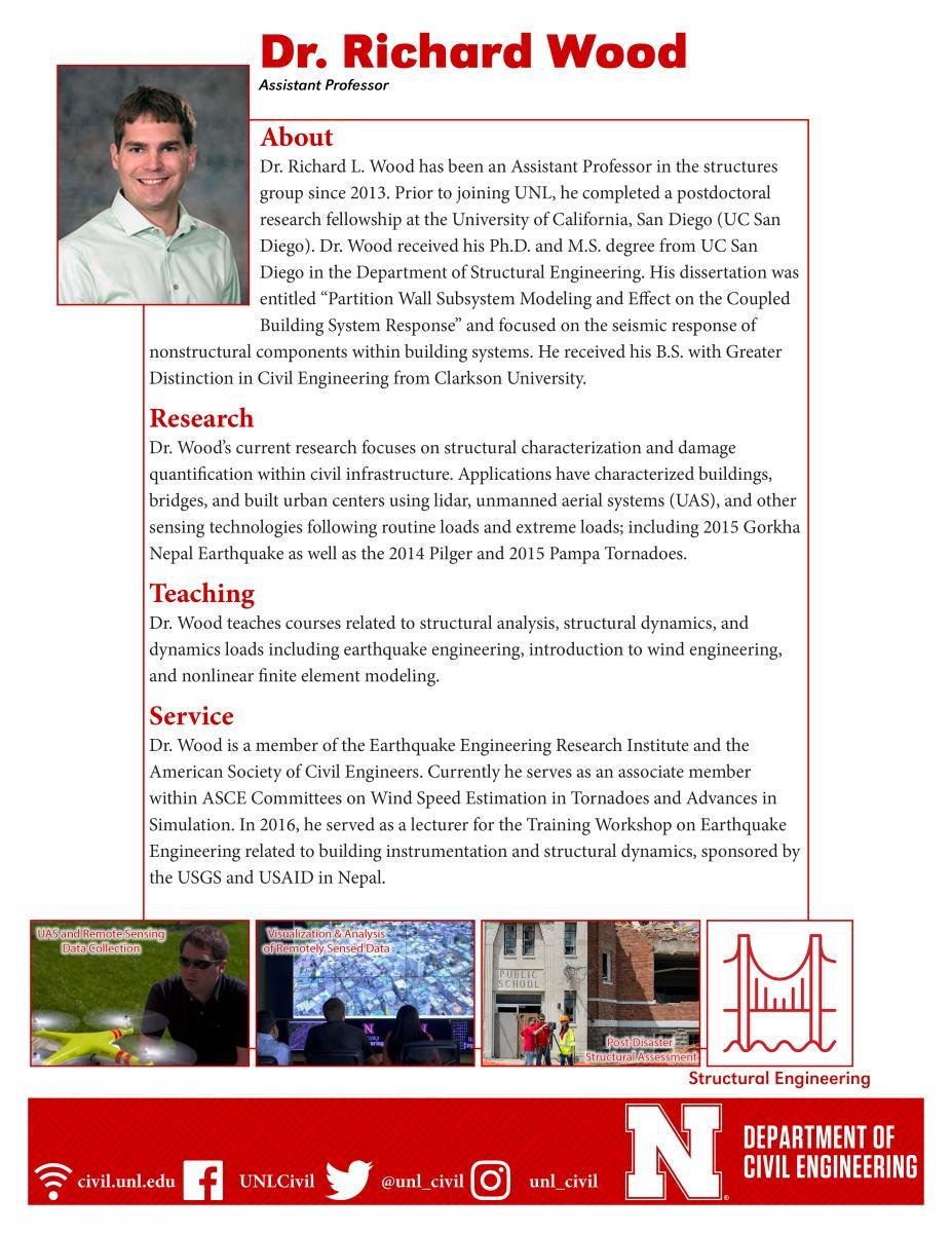 Richard L  Wood   College of Engineering   University of